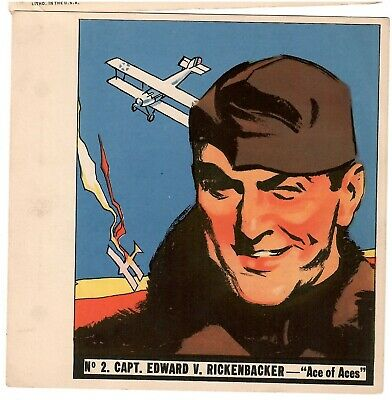 1936 Goudey History Of Aviation Complete 10 Card Set Unpunched 2