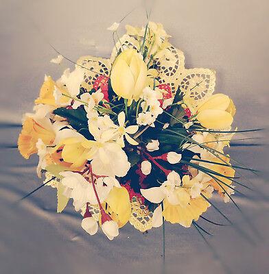 Biedermeiermanschetten dunkelgrün 25 STÜCK für Blumensträuße Hochzeit Deko