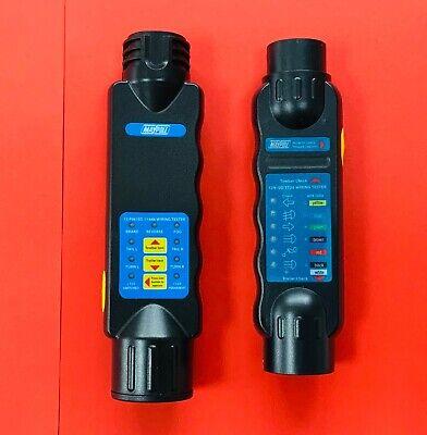 MAYPOLE 12V 13 Pin Euro Tester & 7 Pin Tester Car Van Towbar & Trailer Wiring 2
