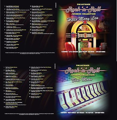 Rock n Roll 10 CDs 250 Hits The Ultimate Jukebox Collection Of 50s 60s Music New 10
