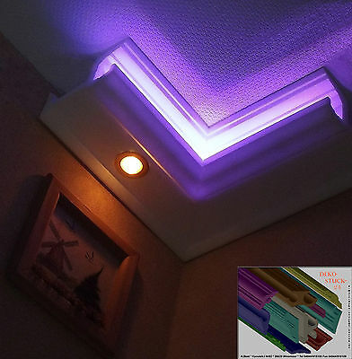 Stuck profil Indirekte LED Beleuchtung 100x186 8 M