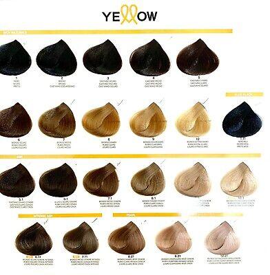 Yellow Hair Color Cream New Alfaparf With Argan Oil Aloetrix 100 Ml Tube 3 55 Picclick