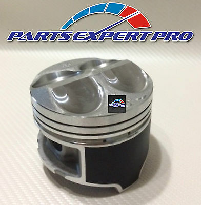 YCP 81MM HIGH COMPRESSION PISTONS BEARINGS /& NIPPON RINGS ACURA INTEGRA CIVIC SI