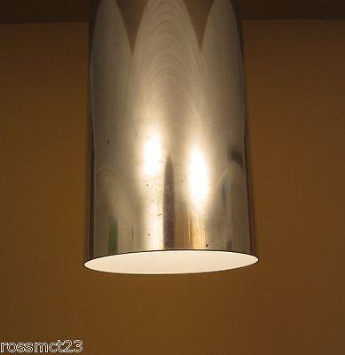 Vintage Lighting three mod 1970s aluminum pendants by Habitat 3
