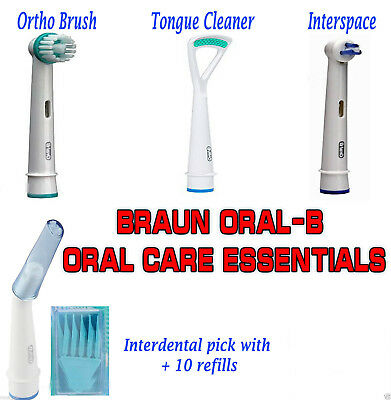 All Models 100% Only Genuine Oral-B Braun Electric Toothbrush Replacement Heads 2