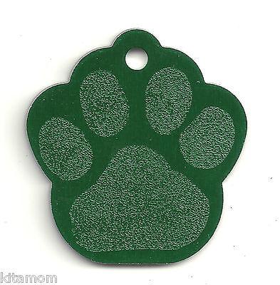K-9 Dog Paw Animal Foot Print Pet ID Label Name Tag 6