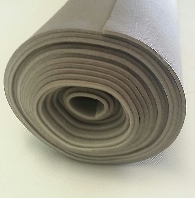 "Auto Headliner Upholstery Fabric Kit with Glue 120 "" x 60 "" Light Gray 3"