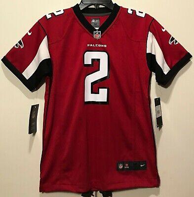 7dbe0f7c NEW $75 NIKE Youth Atlanta Falcons #2 Matt Ryan Football Jersey Boy's Kids  sizes