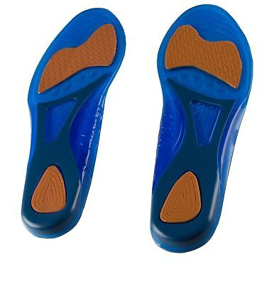 Shoes Insoles Unisex Foot Gel Massaging Inner Soles Sport Pain Support Cushion