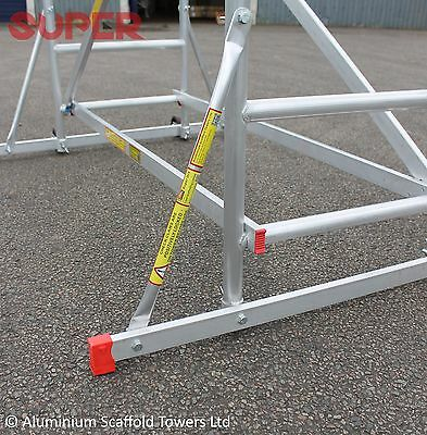 Super DIY 5.2M (3 in ONE) - Aluminium Scaffold Tower, 1m Frames, One Man Tower 5