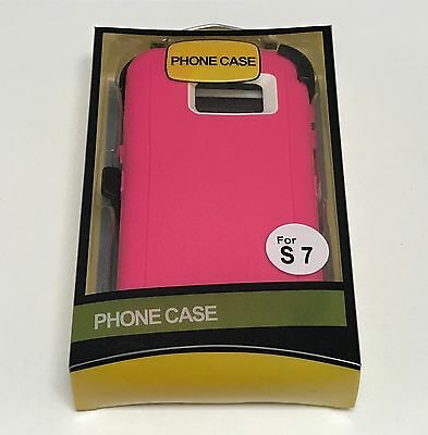 For Samsung Galaxy S7 Defender Case (Belt Clip Fits Otterbox) 10
