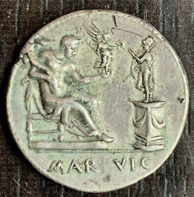 Italy Medal circa 16EME Century after Valerio Belli - Divus Julius Caesar 2