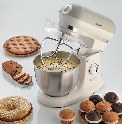 ARIETE 1588 Impastatrice Impastatore Robot Cucina 5.5lt Food Processor Vintage 2