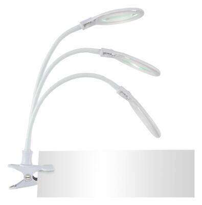 Lampe Loupe LED Avec Pince Bureau Bricolage 3 Dioptres 30 LEDs 6 Watt