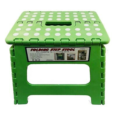 Heavy Duty Plastic Step Stool Foldable Multi Purpose Home Kitchen Use 3