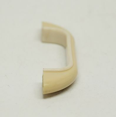 Pale Tan Curved Vintage Plastic Bridge Pull 4