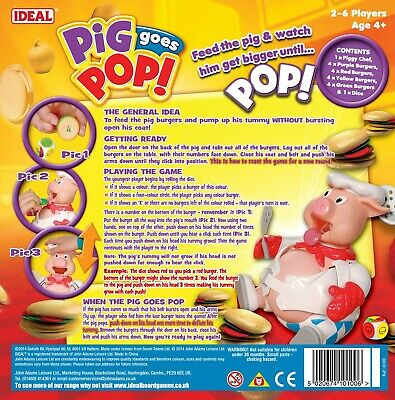 Pig Goes Pop Game from Ideal 2