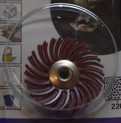DREMEL 473S EZ SpeedClic Detail Abrasive Brush 220 grit 2615S473JA