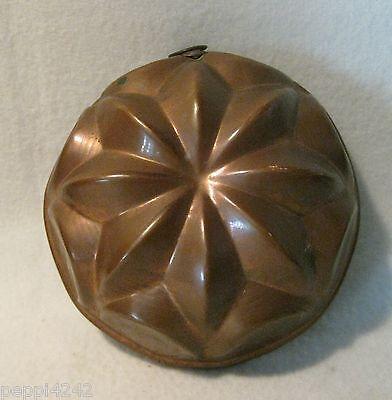 ++  ältere runde kleinere  Kupfer Backform -  D= 12,5 cm  ++ Hhj 2