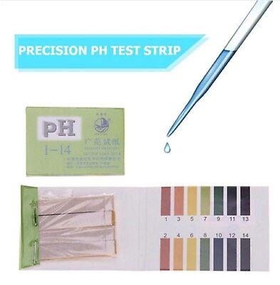 80 Strips PH Test Strip Alkaline Acid 1-14 Full Test Paper Litmus Urine Test 2