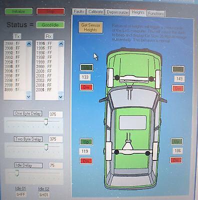 RANGE ROVER P38 [94-02] EAS Air Suspension Diagnostic, Calibrate & Reset