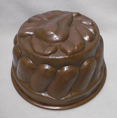 ++ schöne alte  Kupfer Backform - Kupfermodel / Kuchenform Ø 18,5 cm ++ 2