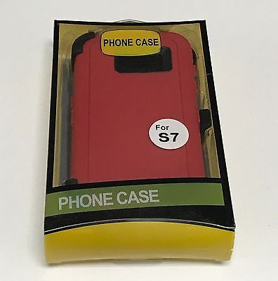 For Samsung Galaxy S7 Defender Case (Belt Clip Fits Otterbox) 8