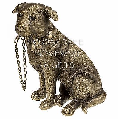 Staffordshire Bull Terrier Statue Bronze Dog Ornament Dog Memorial Figurine New 2