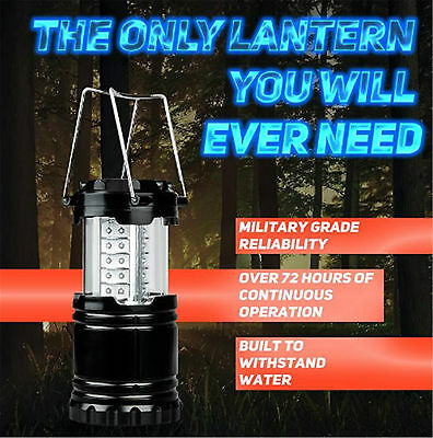 30 LED BATTERY Emergency, Power Outage, Disaster Light, Compact Camping  Lantern
