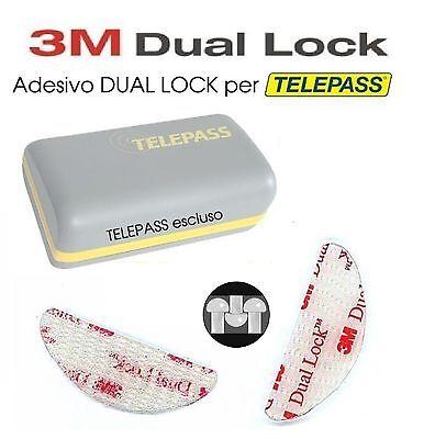 Adesivi Per Telepass 4 Pezzi 3M Dual Lock-Biadesivo Sistema  Originale-Sj3560 2