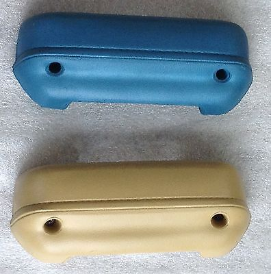 MOPAR Dodge Plymouth 1964 65 B Body Convertible Rear Arm Rest Pads NEW Black 7
