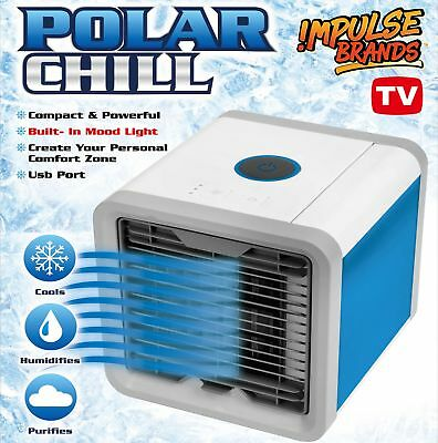 Portable Air Cooler Conditioner NEW Cool Cooling For Bedroom Mini Fan AU 2