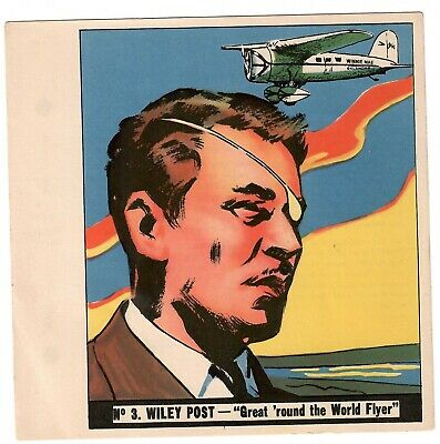 1936 Goudey History Of Aviation Complete 10 Card Set Unpunched 3
