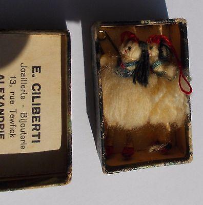 Vintage 19 century matchbox Greek tsoliades from Alexandria 7