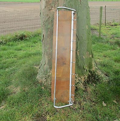 Vintage Wood Chrome Wall Coat Rack Shelf Mid Century Modern Railroad Industrial 6