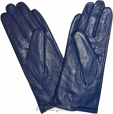 Leather gloves. Size S, M, L, XL. Woman's Leather  winter Gloves. Dress Gloves. 3