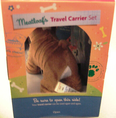 American Girl Meatloaf's Travel Carrier Set Bulldog Accessories - RETIRED 4