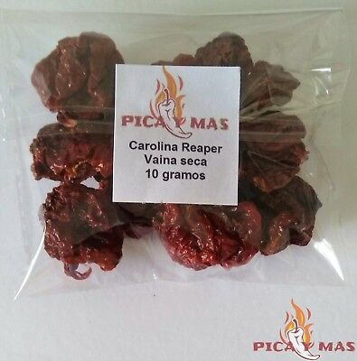 Carolina Reaper Chilli Pods - Worlds Hottest Chilli - 100% Reaper 10g 4