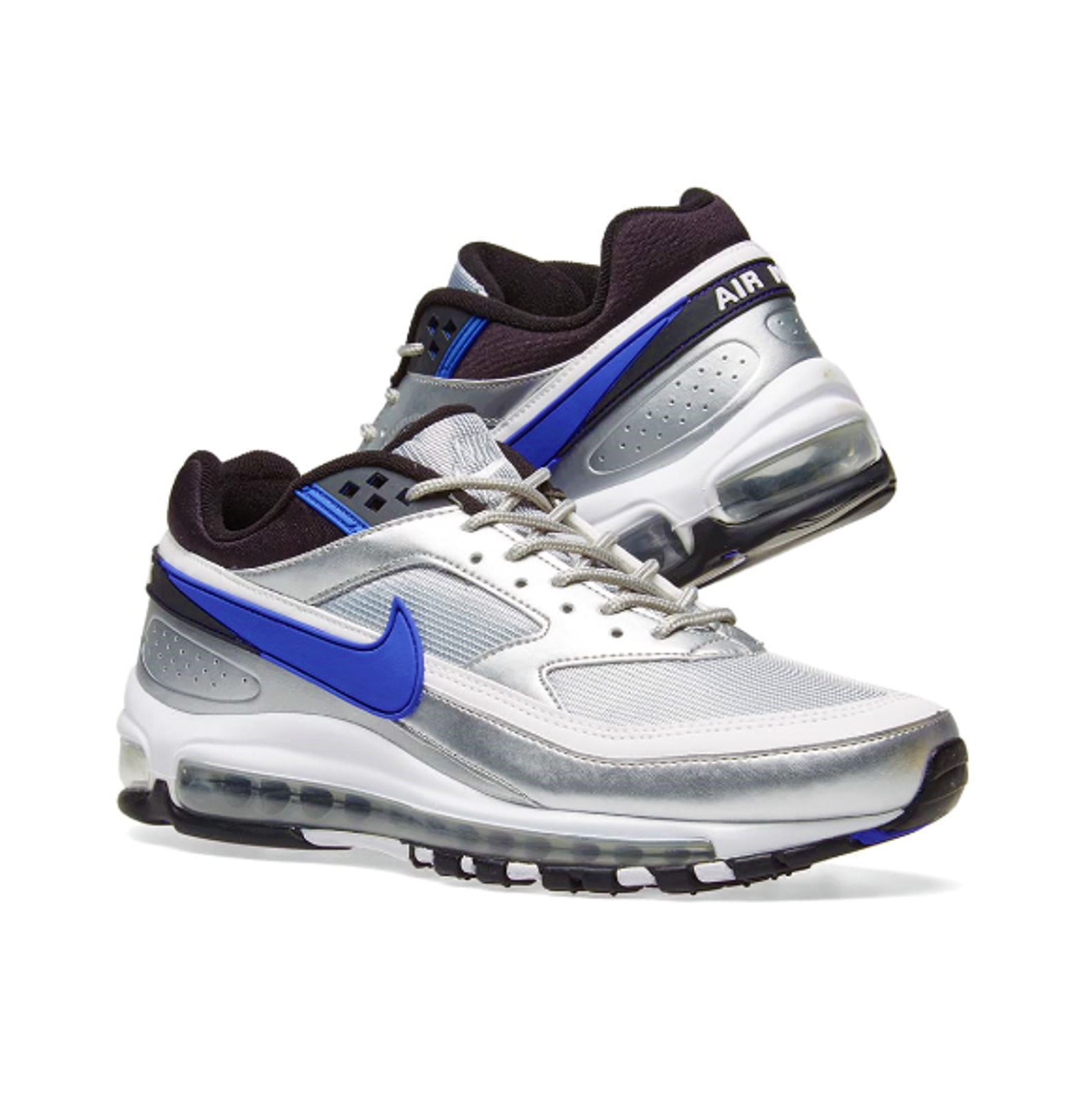 NIKE AIR MAX 97 Bw Mtlc Silver Pers.violet Scarpe Running