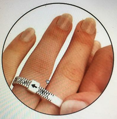 check your Size Ring Sizer to Measure your Finger Size - Ring Size Measurement 3