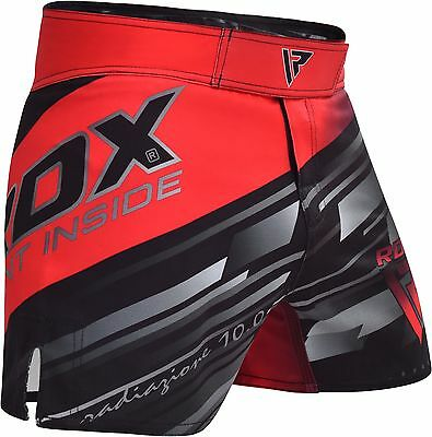 RDX MMA Shorts Kick Boxing Grappling Training Mens Gym Wear Muay Thai Cage