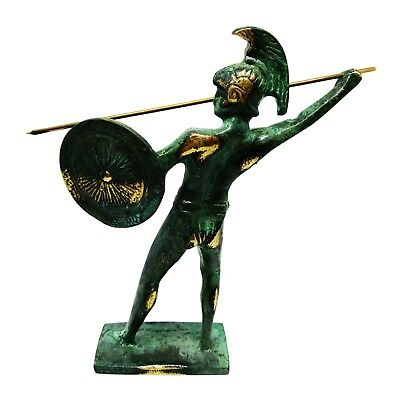 Ancient Greek Bronze Museum Statue Replica of Leonidas King of Sparta 2
