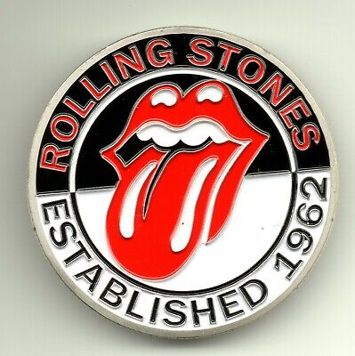 Rolling Stones Silver Coin Rock n Roll Pop Music Band Songs Rockers 60s Retro UK 4