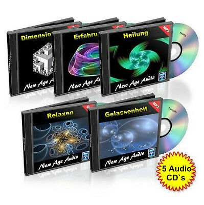 Entspannungs Musik, Ambient, relaxen, Wellness,Meditation, New Age ✔5 Audio CD`s 3