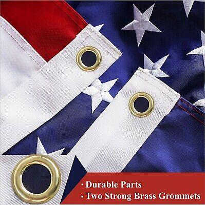 G128 – American Flag US USA | 3'x5' ft | EMBROIDERED Stars, Sewn Stripes 4