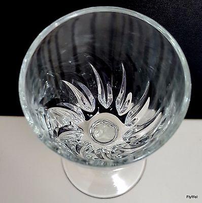 Luminarc Flamenco Cordial Glasses Set of 6 plus 1 Clear Swirl Liqueur 2 oz