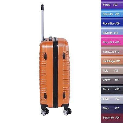 Reisekoffer xH003 Koffer Trolley Hartschalenkoffer Handgepäck 4Rollen M-L-XL-Set 8