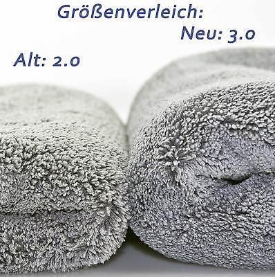 3× Petzoldts Mikrofasertuch Superflausch 3.1 Microfaser-Poliertuch & Trockentuch 3