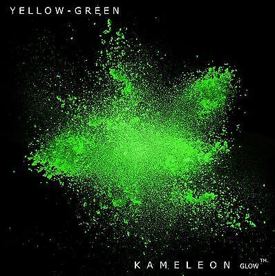 Glow in the Dark Powder (Yellow - Green) 2