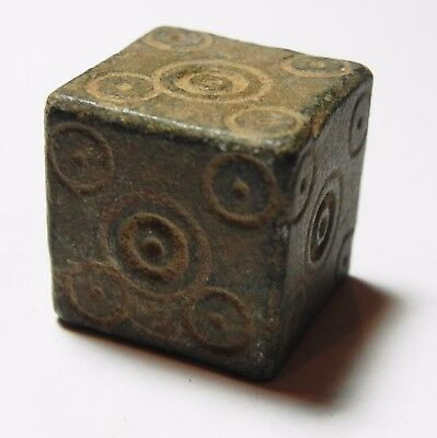 Zurqieh -Aa9700-  Ancient Jordan. Byzantine Bronze Weight. 600 - 700 A.d